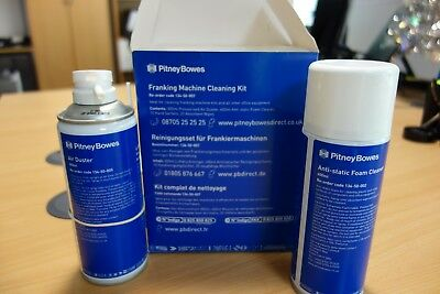 Franking Machine Cleaning Kit Pitney Bowes - Spray Duster, Cleaning Foam, Wipes