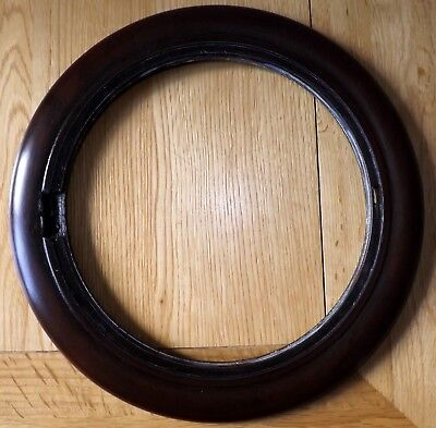 Antique/Vintage Mahogany Wall Clock Face / Dial Surround