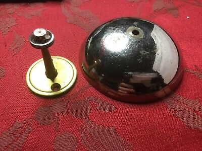 American Wall Clock Polished Bell And Brass Bell Post