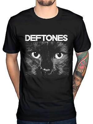 Official Deftones Sphynx Graphic T-Shirt Band Merch Metal Rock Chino Moreno NEW