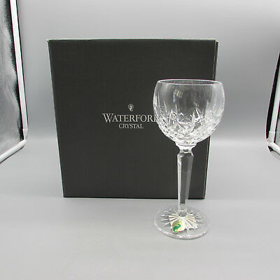 SET OF FOUR - Waterford Crystal LISMORE Hock Wine Glasses
