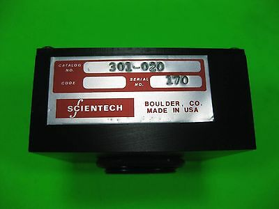 Scientech Photodiode Detector 301-020 Used