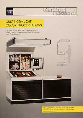 Just Normlicht Color Proof Stations -  Prospekt