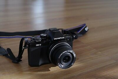 Olympus OM-D E-M10 Mark II Body Only with Extra Battery (mint)