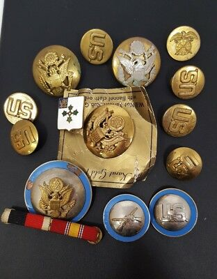 US ARMY CAP PIN Lot See Pictures Nice Lot