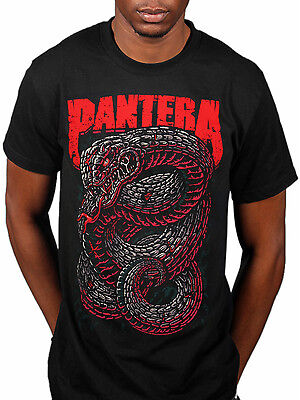 Official Pantera Venemous T-Shirt Snake Far Beyond Driven Power Metal Magic Vul