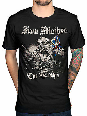 **Sale** Official Iron Maiden Sketched Trooper T-Shirt All Sizes