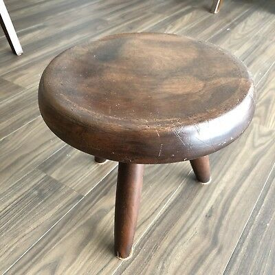 Vintage Stool designed by Charlotte Perriand