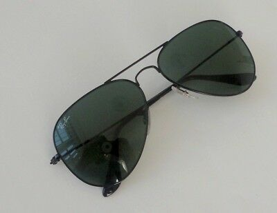 a68c6559b ... discount code for new ray ban aviator rb 3025 l2821 black green size  large 62mm sunglasses