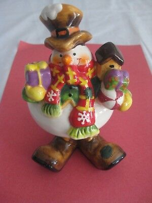 "Snowman Bobblehead I think it""s Frosty's Brother"