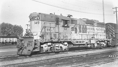 Original B&W negative Union Pacific Railroad diesel loco #149 Salt Lake City, UT