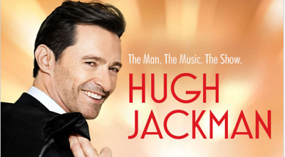 2 Tickets To See Hugh Jackman - New York City, Msg 6/28/19 (Lower Level Seats)