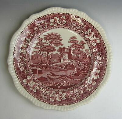 Spode China TOWER PINK (OLD MARK) Dinner Plate(s) EXCELLENT