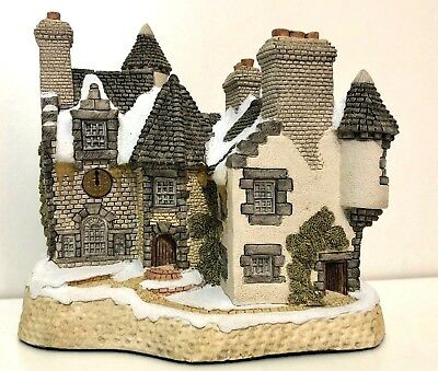 David Winter Cottages - Christmas In Scotland And Hogmanay - Original Box - 1988