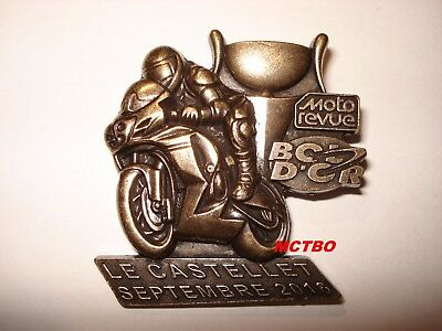 Medaille Bol D'or Circuit Paul Ricard Moto Revue Septembre 2016