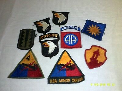 34 Wwii Military Patches