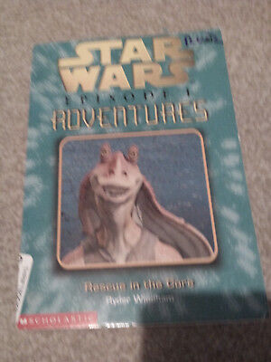 Star Wars Episode 1 Adventures Rescue in the Core #9 R. Windham RARE Novel