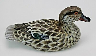 Vintage Wood Pintail Duck Decoy Hand Carved and Painted