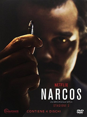 Narcos - Stagione 02 (Special Edition O-Card) (4 Dvd) - (Ita (US IMPORT) DVD NEW