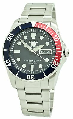 Seiko 5 Diver Automatic Blue Dial Men's Stainless Steel Watch SNZF15