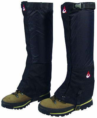 Chinook Heavy Duty Backcountry Gaiters, Black, XL