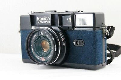 **EXC+++++** Konica C35 AF2 35mm Point&Shoot Camera 38mm F/2.8 From JAPAN