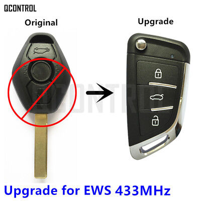 Modified Flip Remote Key for BMW 1/3/5/7 Series X3 X5 Z3 Z4 for EWS System