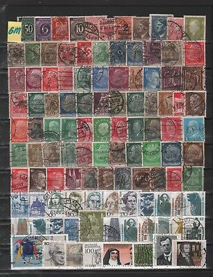 Germany   Lot Of Old Stamps #6M