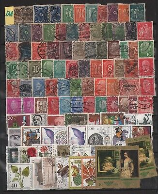 Germany   Lot Of Old Stamps #1M