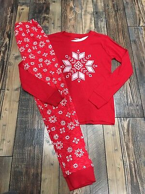 c8faa76ee2f7 GYMBOREE GYMMIES CHRISTMAS Holiday Boys Red Santa Pjs Pajamas Nwt ...
