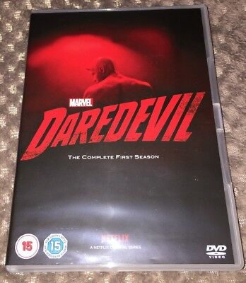 MARVEL'S - DAREDEVIL DVD Boxset The Complete First Season (Series 1)2016 NETFLIX