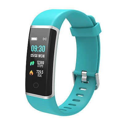 (Green) - BingoFit Unique Fitness Tracker, Colour Screen Activity Tracker