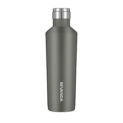 (470ml, Charcoal) - Bevanda 470ml Water Bottle Vacuum Insulated Double Wall
