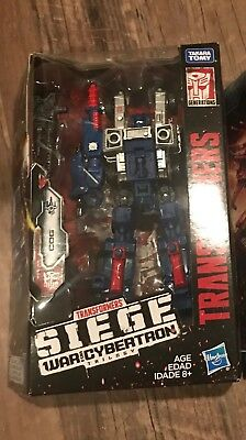 Transformers War for Cybertron Cog Sideswipe Hound Skytread Deluxe Class Siege