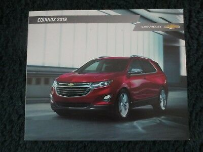2019 Chevrolet Equinox And Redline Edition  Brochure 40 Pages Brochure