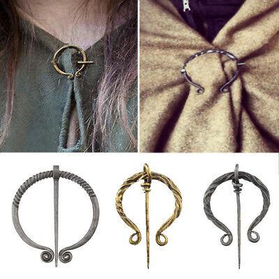 1PC Chic Hollow Pin Viking Brooch Buckle Apron Cloak Celtic Fashion Jewelry Hot