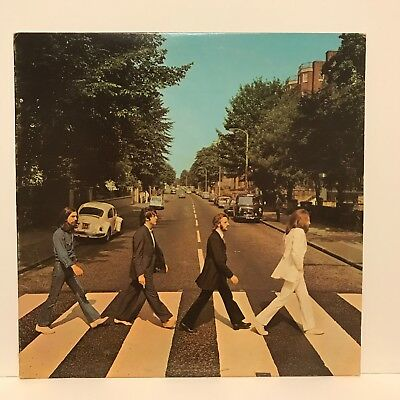 The Beatles 'abbey Road Stereo Lp Vinyl Record Capitol S0-383 Used