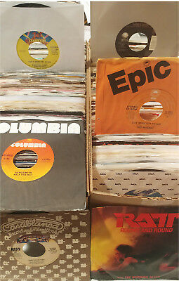 Pick ANY (5) 45 rpm JUKEBOX RECORDS for $19.99 (70's 80's 90's)  POP ROCK SOUL