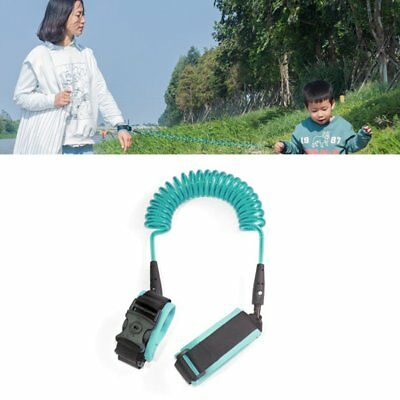 Beideli Harness Leash Strap Kids Safety Anti-lost Wrist Link Band with Lock AH
