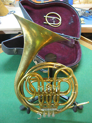 King Cleveland F / Eb French Horn 1947, with Original Case