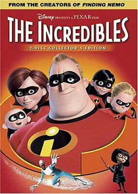 The Incredibles (Full Screen Two-Disc Collector's Edition) [DVD] NEW!