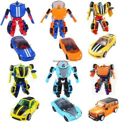 Kids Mini Pocket Car Toy Transformers Classic Childs Action Figure Toys Gifts