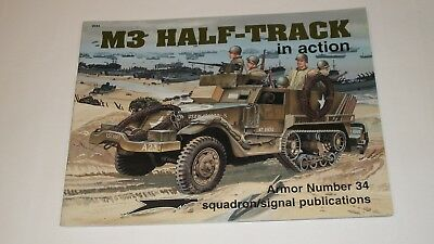 Squadron Publications book on the M3 Halftrack in Action