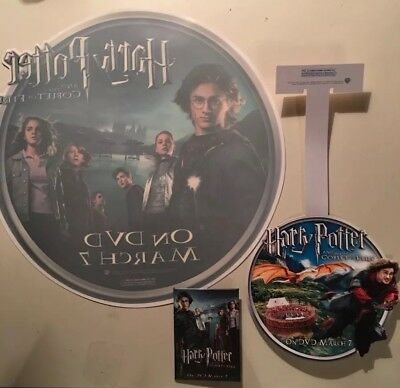 Lot Of 5 Rare Harry Potter And The Goblet Of Fire Promo Items ~ Fantastic Beasts