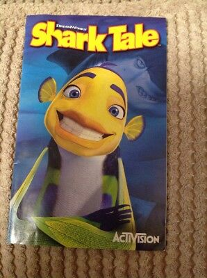 PS2 Shark Tale Instruction Booklet Only