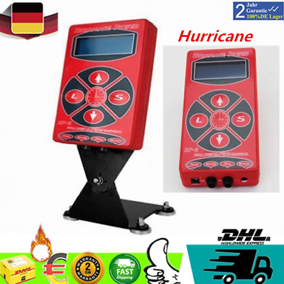 Hurricane LCD Digital Tattoo Power Maschine Netzteil Netzgerät P030 Power Supply