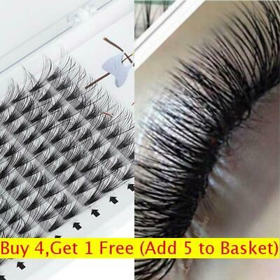 Eyelash Extensions False Eyelashes Flare Cluster 20D Pre-fanned Volume Lashes