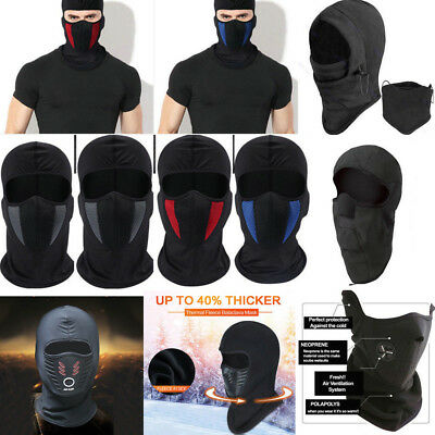 Windproof Ski Motorcycle Cycling Balaclava Full Face Mask Neck Scarf Hat Cool