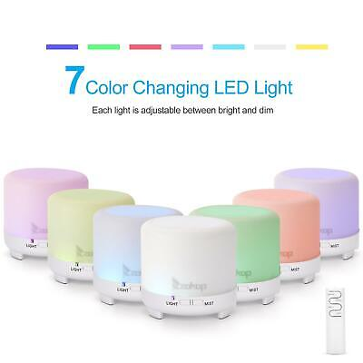 120ml Aroma Humidifier Essential Oil Diffuser Aromatherapy Purifier with Remote