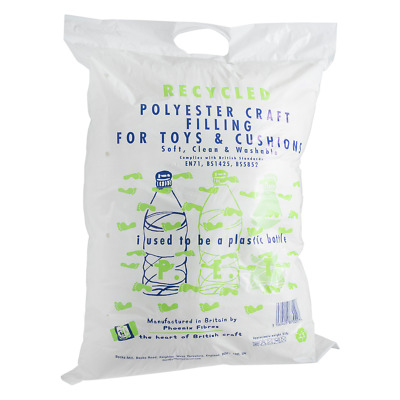 Recycled Toy, Bear & Cushion Stuffing Filling Large 250g Bag Supersoft